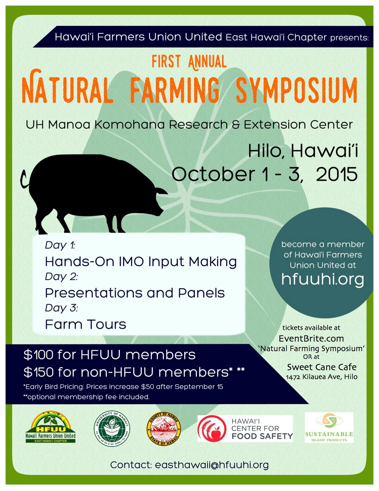 2015 Natural Farming Symposium: Day 2